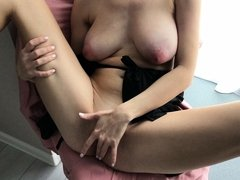 Big ass ebony BBW VPL and spandex booty shorts. Prt.1
